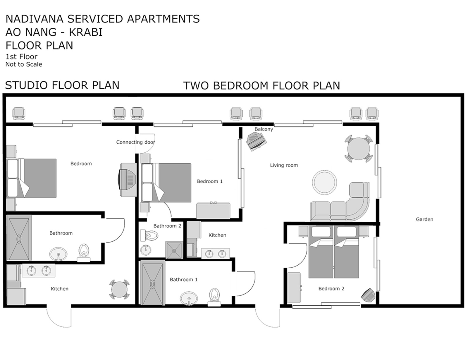 fully serviced Studio apartments